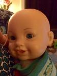 DIY babywearing doll